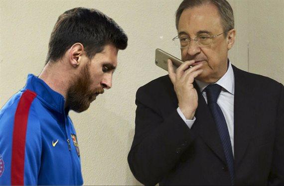 El golpe final a Messi: Florentino Pérez tiene un as en la manga