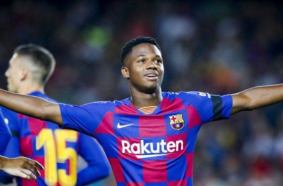 ¡Ya tiene novias! El Barça está nervioso: quiere renovar a Ansu Fati ya.