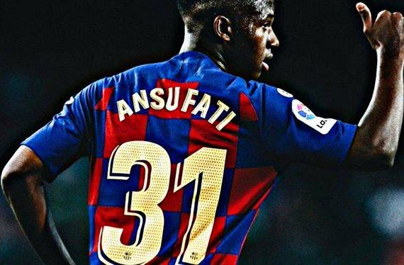 Vaya palo para el Barça ¡Ansu Fati se queda fuera durante casi un mes!