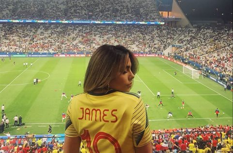 La hermana de James Rodríguez, Juana Valentina, estalla con este rumor