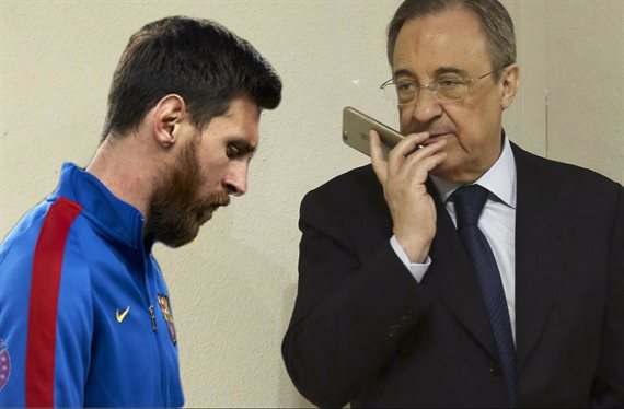 Florentino Pérez se carga a Messi con un 'top secret' ¡escandaloso!