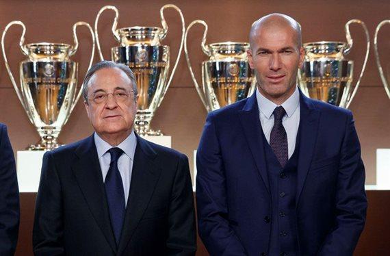 Se encara con Zidane: la pelea en el Real Madrid que Florentino Pérez tapa