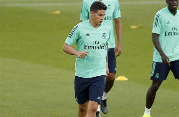 James Rodríguez y Florentino Pérez pactan: hay muerto en el Real Madrid-PSG