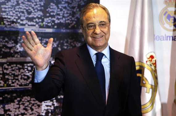 Florentino Pérez negocia por la sensación de la Champions League