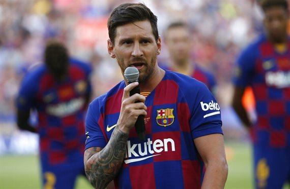 Messi no se ríe del Real Madrid: Tiembla: Florentino Pérez lo trae