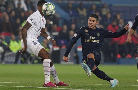 James Rodríguez tiene una ¡pelea bestial! con un jugador del Real Madrid