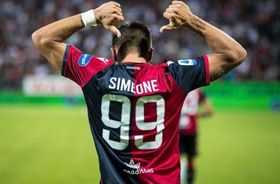 Ley del ex: Cagliari derrotó a Genoa con un gol de Giovanni Simeone