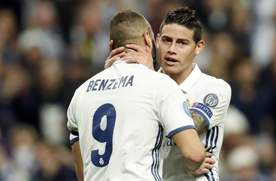 James Rodríguez guarda un top secret de Zidane que enfadaría a Benzema