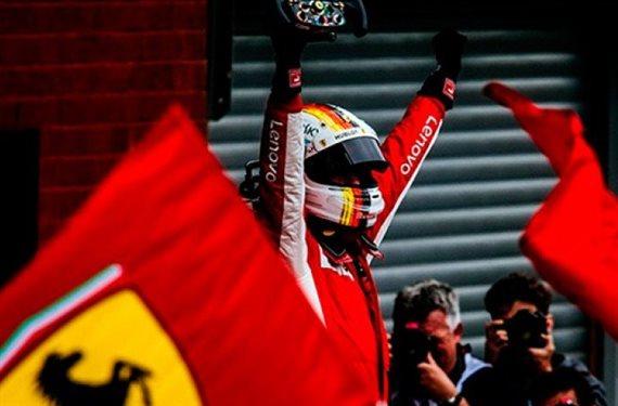 ¡Sebastian Vettel lo vuelve a hacer! Gana pero desata la guerra en Ferrari