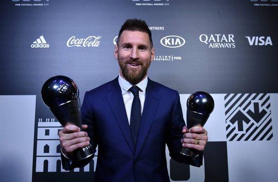 Lionel Messi ganó por primera vez el premio The Best al mejor futbolista