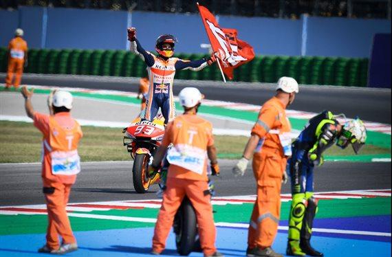 ¿Y si Marc Márquez no tiene límites? Valentino Rossi lo sabe