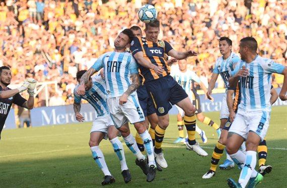 Racing fue inferior, pero logró empatar 1-1 frente a Rosario Central