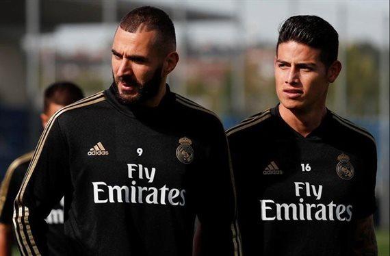 Zinedine Zidane apremia James Rodríguez: ¡fuera de la lista y ojo a esto!