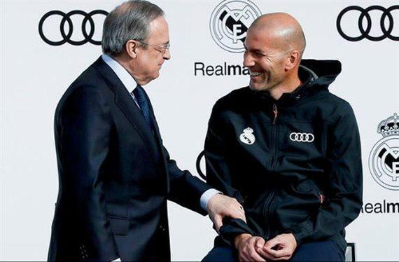 Zidane lo pilla de fiesta y lo tapa ¡Pero Florentino Pérez se entera!