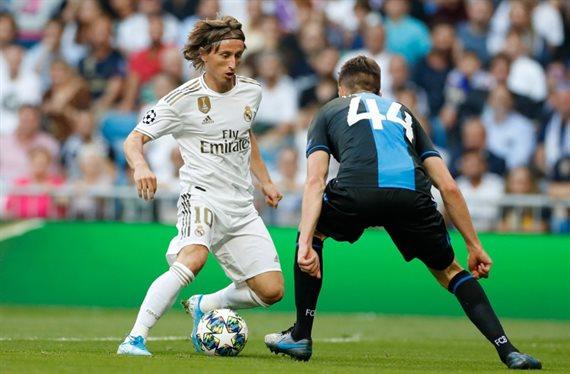 Real Madrid evitó una derrota histórica y empató sobre el final ante Brujas