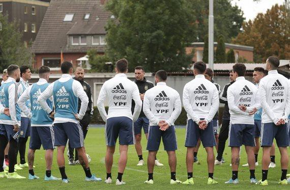 La formación confirmada de la Selección Argentina para enfrentar a Alemania
