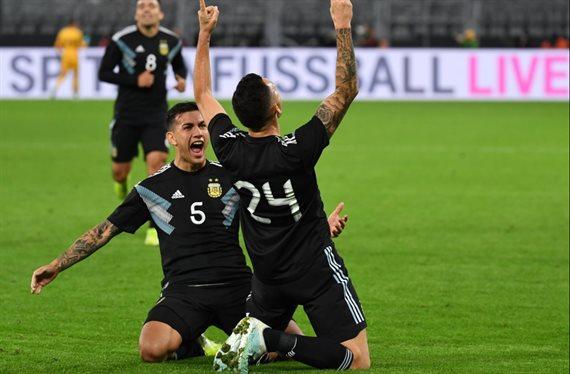 Argentina logró una remontada agónica y empató 2-2 ante Alemania