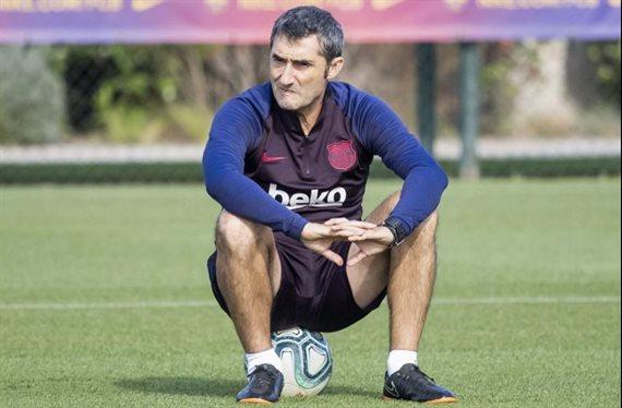 ¡Se pelea con Ernesto Valverde! El crack del Barça que pide irse en enero