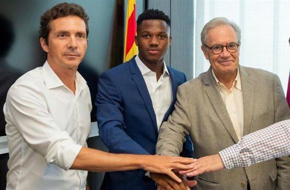 Bombazo de última hora: roban a Ansu Fati al Barça