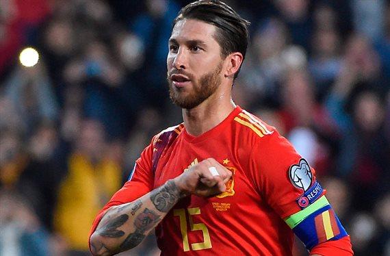 Sergio Ramos revoluciona el Noruega-España con una operación inesperada