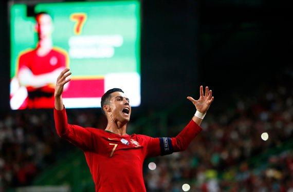 Cristiano Ronaldo da el nombre del recambio de Messi en el Barça