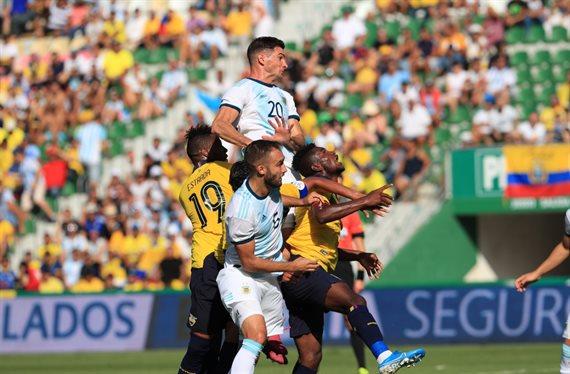 Con autoridad, Argentina derrota 6-1 a Ecuador en el cierre de la gira