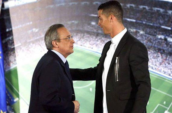 Florentino Pérez contra Cristiano Ronaldo por un crack de la Premier