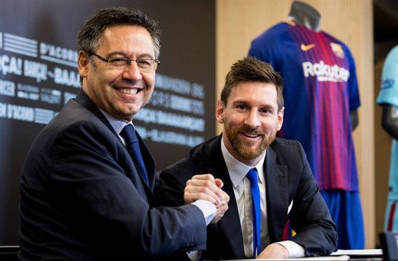 Bartomeu se lo quita a Florentino Pérez: Messi ya tiene su fichaje top