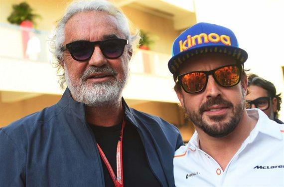 ¡Será en Ferrari! Flavio Briatore pone fecha a la vuelta de Fernando Alonso