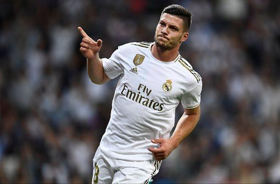 Sale la basura de Zidane en la operación Luka Jovic
