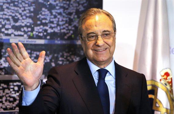 ¡Está cenando con Florentino Pérez en Madrid! El galáctico bomba