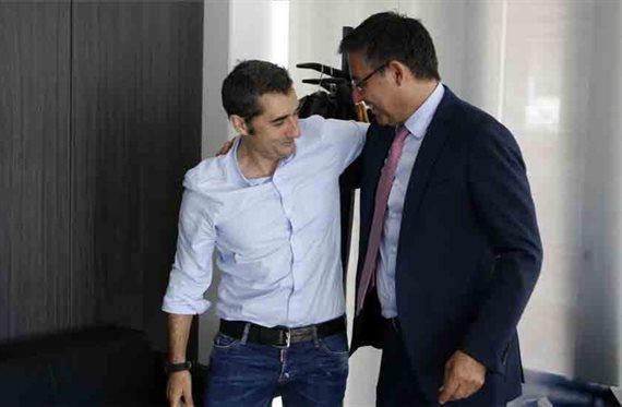 El sustituto que Bartomeu prepara para Valverde no es Xavi Hernández