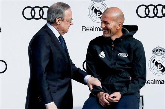 ¡Zidane pide a Florentino Pérez que lo eche! No lo puede ni ver