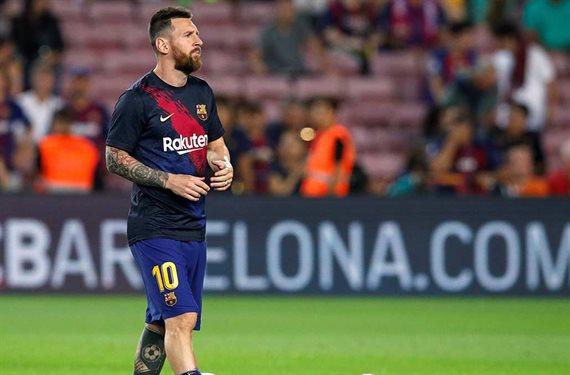 Messi no lo quiso en el Barça ¡y se ofrece a Florentino Pérez!