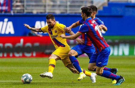 Messi le pide la cabeza y Valverde se la corta en el Eibar-Barça