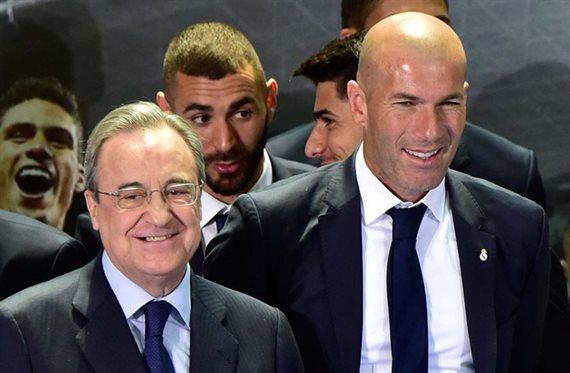 Cuatro muertos y dos señalados: Zidane pasa la lista a Florentino Pérez