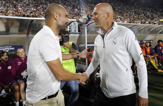 Pep Guardiola y Zidane negocian un trueque bomba
