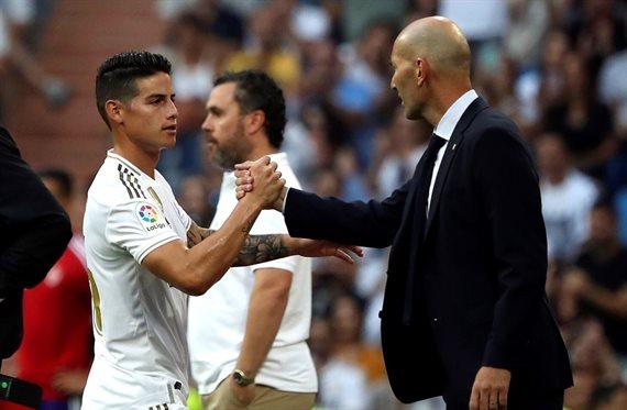 La rajada de James Rodríguez contra Zidane que sale a la luz