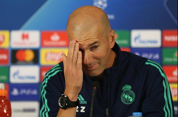 Zidane gana tiempo y pide un crack para el mercado invernal