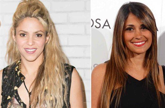¡Feo a Antonella Rocuzzo de Shakira! Guerra en Barcelona