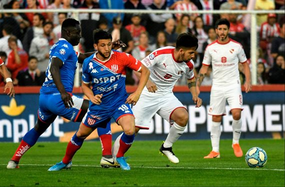 Independiente no resistió la diferencia y Unión logró un agónico empate