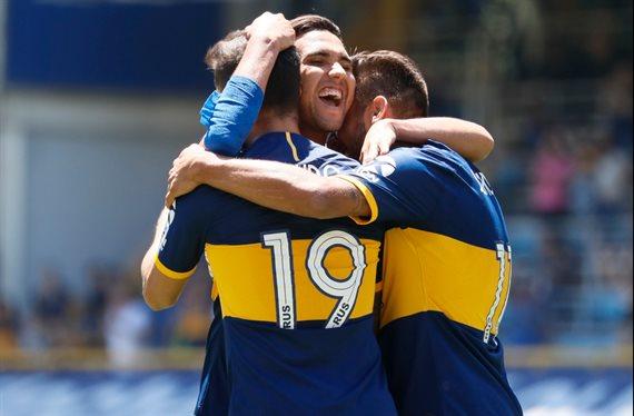 Boca derrotó 5-1 a Arsenal y regresó a la cima de la Superliga