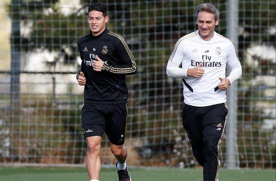 ¡James Rodríguez se va en enero! Está apartado y Zidane le quiere fuera