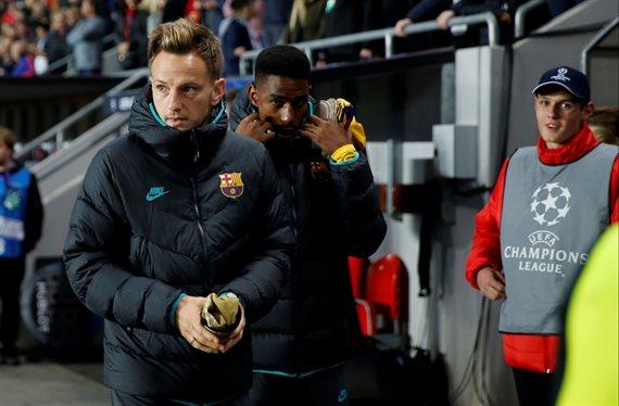 Rakitic se va del Barça: 40 'kilos', en invierno ¡y los culés no ficharán!