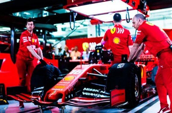 Ferrari ya empieza perdiendo en el Gran Premio de Brasil