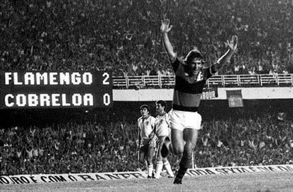 Hace 38 años, Flamengo disputaba su primera final de la Copa Libertadores