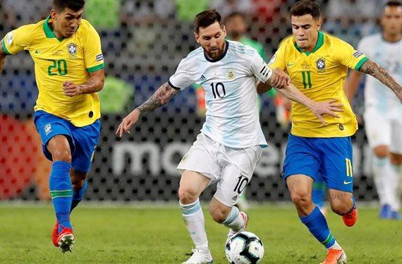 Con el regreso de Messi, Argentina se enfrenta con Brasil en el clásico