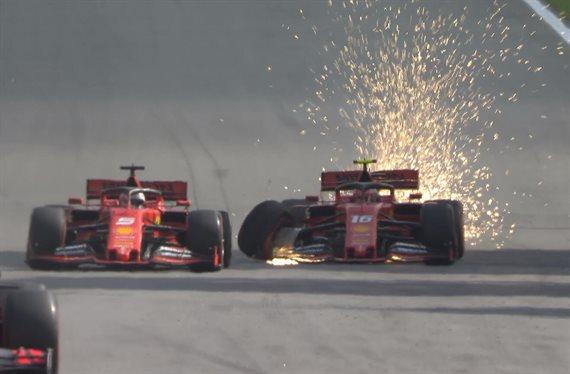 Carlos Sainz hace historia mientras que Ferrari hace el rídiculo