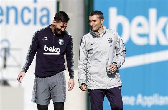 ¡Despedido! Messi celebra la vuelta de un ex al banquillo