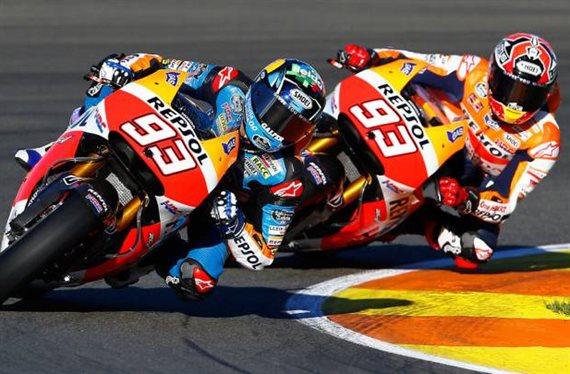 Márquez ya gana a Márquez en pista